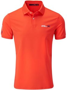 RLX Ralph Lauren Performance solid polo