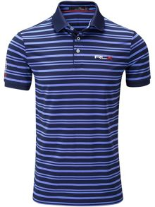 RLX Ralph Lauren Stripe airflow polo