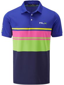 RLX Ralph Lauren Multi stripe polo