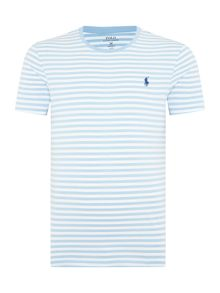 Crew-Neck Striped T-Shirt