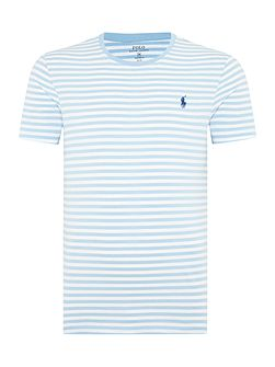 Men's Polo Ralph Lauren Crew-Neck Striped T-Shirt