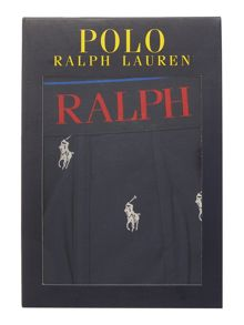 Polo Ralph Lauren All of pony print trunk