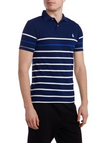 Custom-Fit Striped Polo shirt