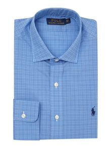 Custom Fit Estate Collar Check Shirt