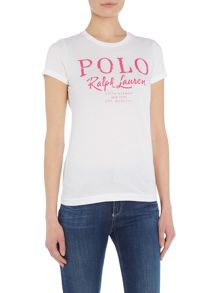 Polo Ralph Lauren Holly logo t-shirt