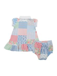 Polo Ralph Lauren Baby Girls Patchwork Polo Dress