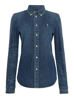 Harper denim shirt