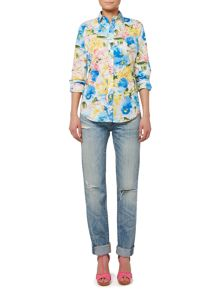 Polo Ralph Lauren Long sleeve floral print shirt
