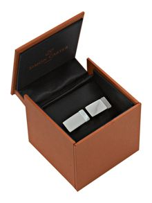 Simon Carter Mother of pearl rectangle cufflinks