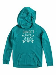 Roxy Girls Tide Rush Solid B Hoody