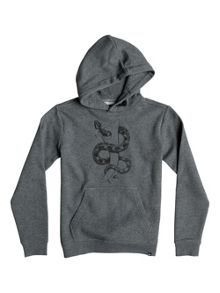 Quiksilver Boys Snake Fined Fleece Hoodie
