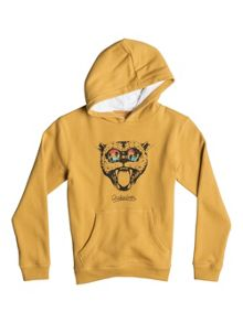 Quiksilver Boys Sunset Cat Fleece Hoodie