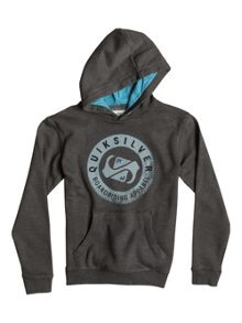 Quiksilver Boys Finish Line Front Fleece  Hoodie