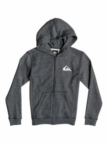 Quiksilver Boys Everyday Heather Zip Fleece Hoodie