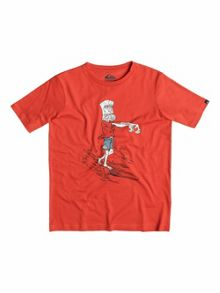 Quiksilver Boys Classic Dead Log - T-Shirt