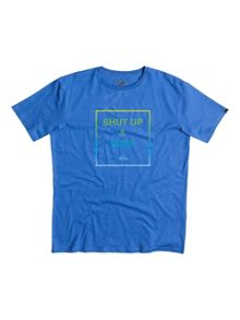 Quiksilver Boys Classic Shut Up And Surf T-Shirt