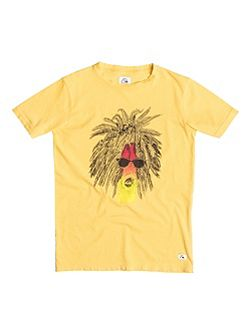Boys Garment Dye Rasta Palm T-shirt