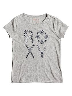 Girls Basic Crew ROXY Batik T-shirt
