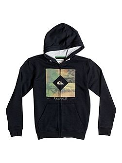 Boys Diamond Day Zip Up Hoodie