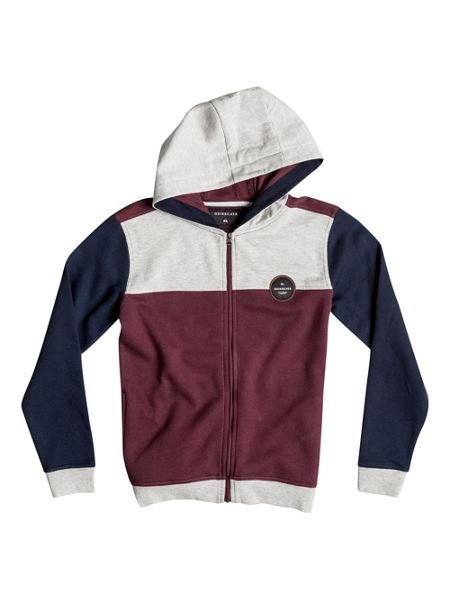Quiksilver Boys Iconic Science Zip Up Hoodie