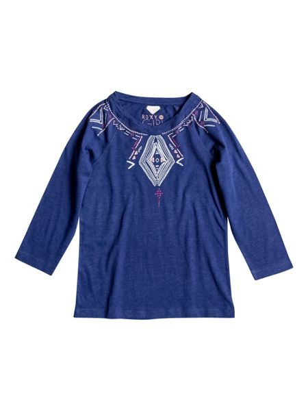 Roxy Girls Native Festival 3/4 Sleeve T-Shirt