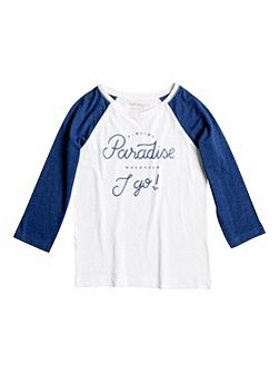Girls Paradis 3/4 Sleeve T-Shirt