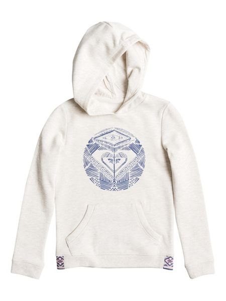 Roxy Girls Riding Owls Dancing On Hoodie