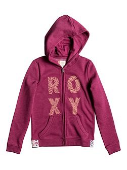 Girls Sea Owls Wild Zip-Up Hoodie