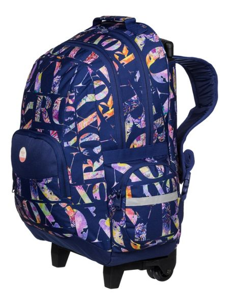 Roxy Girls Wheeled School Backpack
