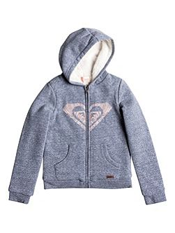 Girls Wild Nothing Zip Up Hoodie