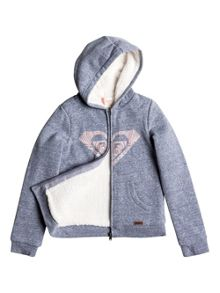 Roxy Girls Wild Nothing Zip Up Hoodie