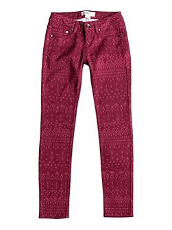 Girls Sea Horse Slim Fit Jeans