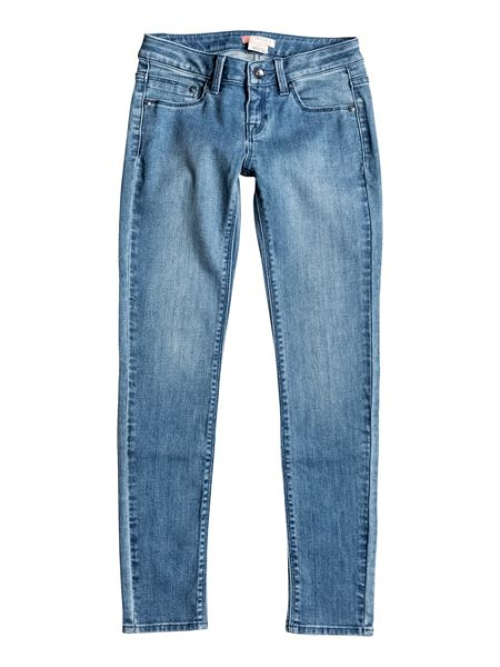 Roxy Girls High and Wild Slim Fit Jeans