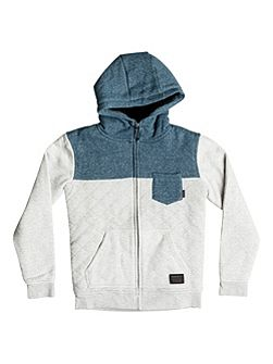 Boys Best Trip Quilted Zip Up Hoodie