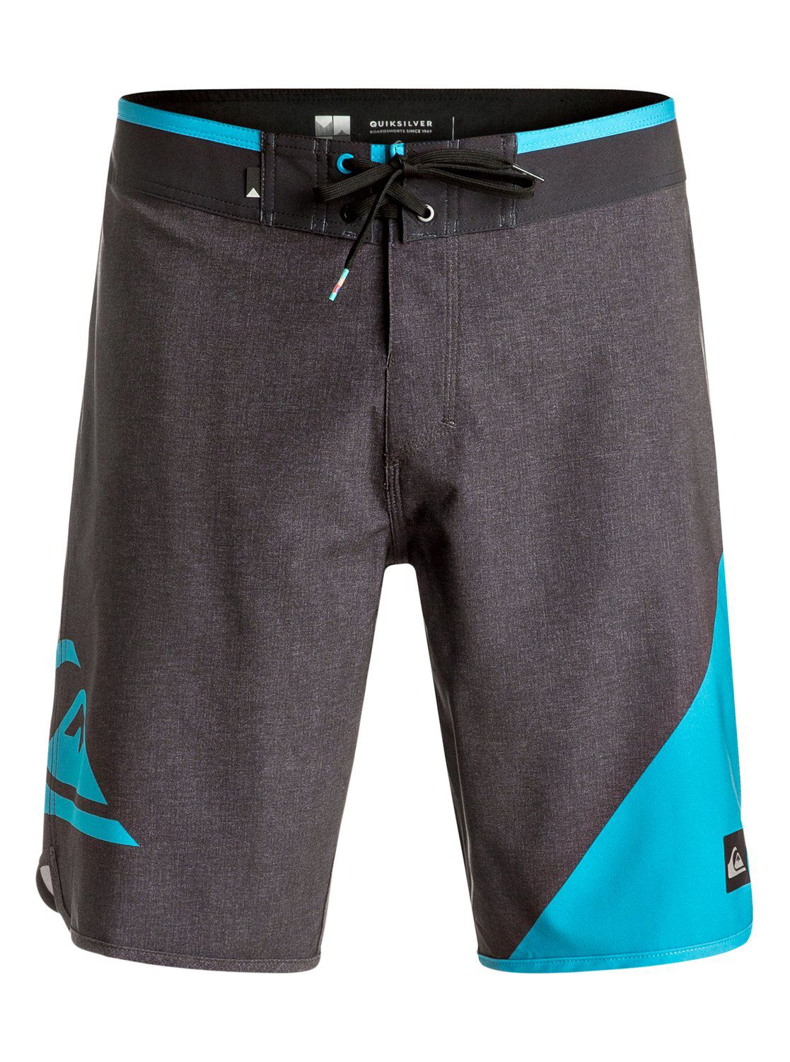Mens Quiksilver New Wave 20 Boardshort Charcoal