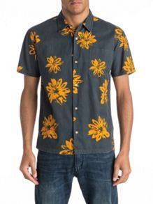 Quiksilver South Beach Dimes Short Sleeve Shirt