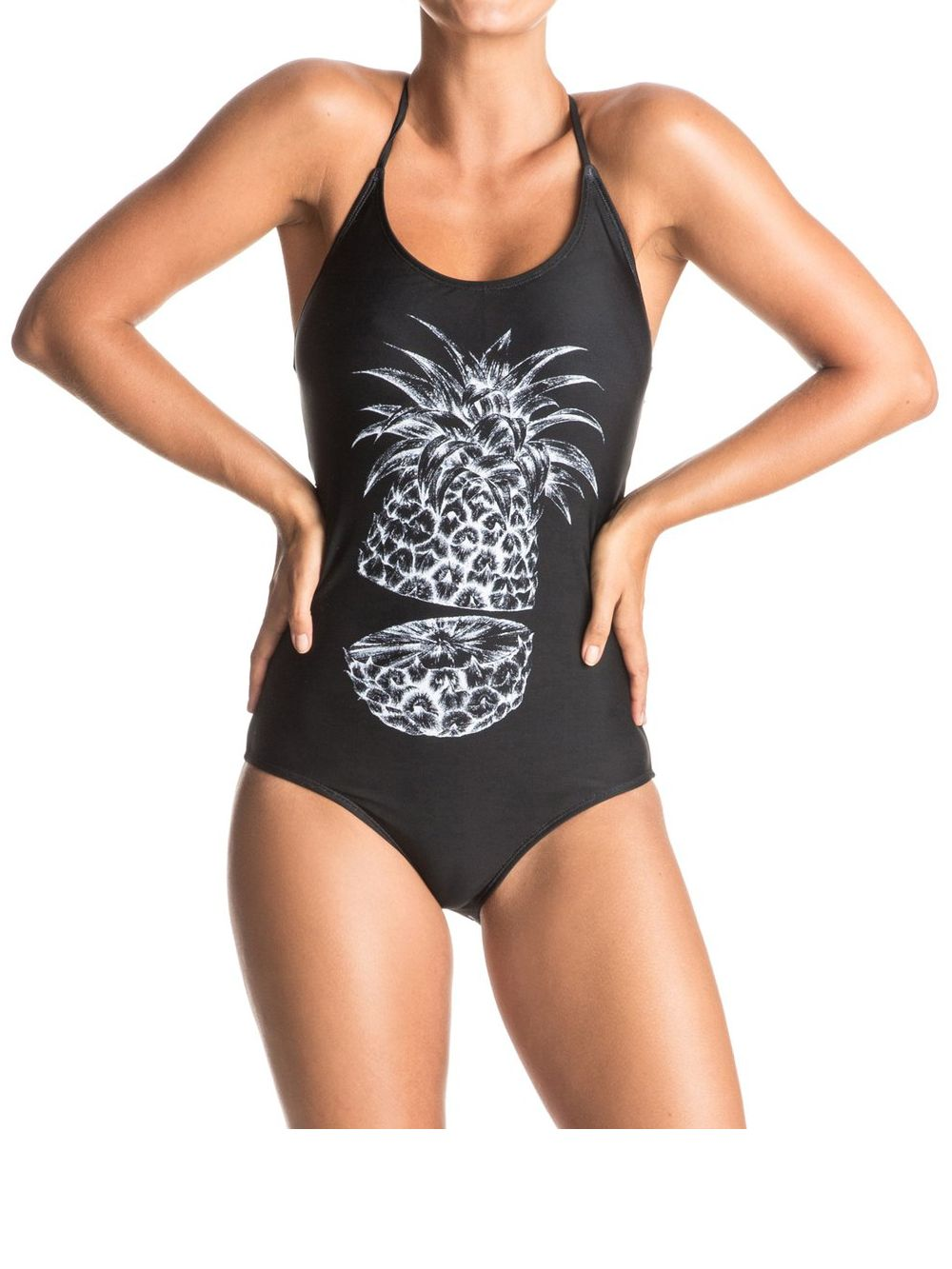 Roxy Roxy summer pacific swimsuit, Black