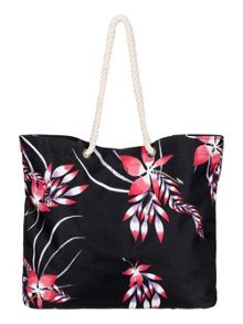 Roxy Roxy printed tropical vibe beach bag