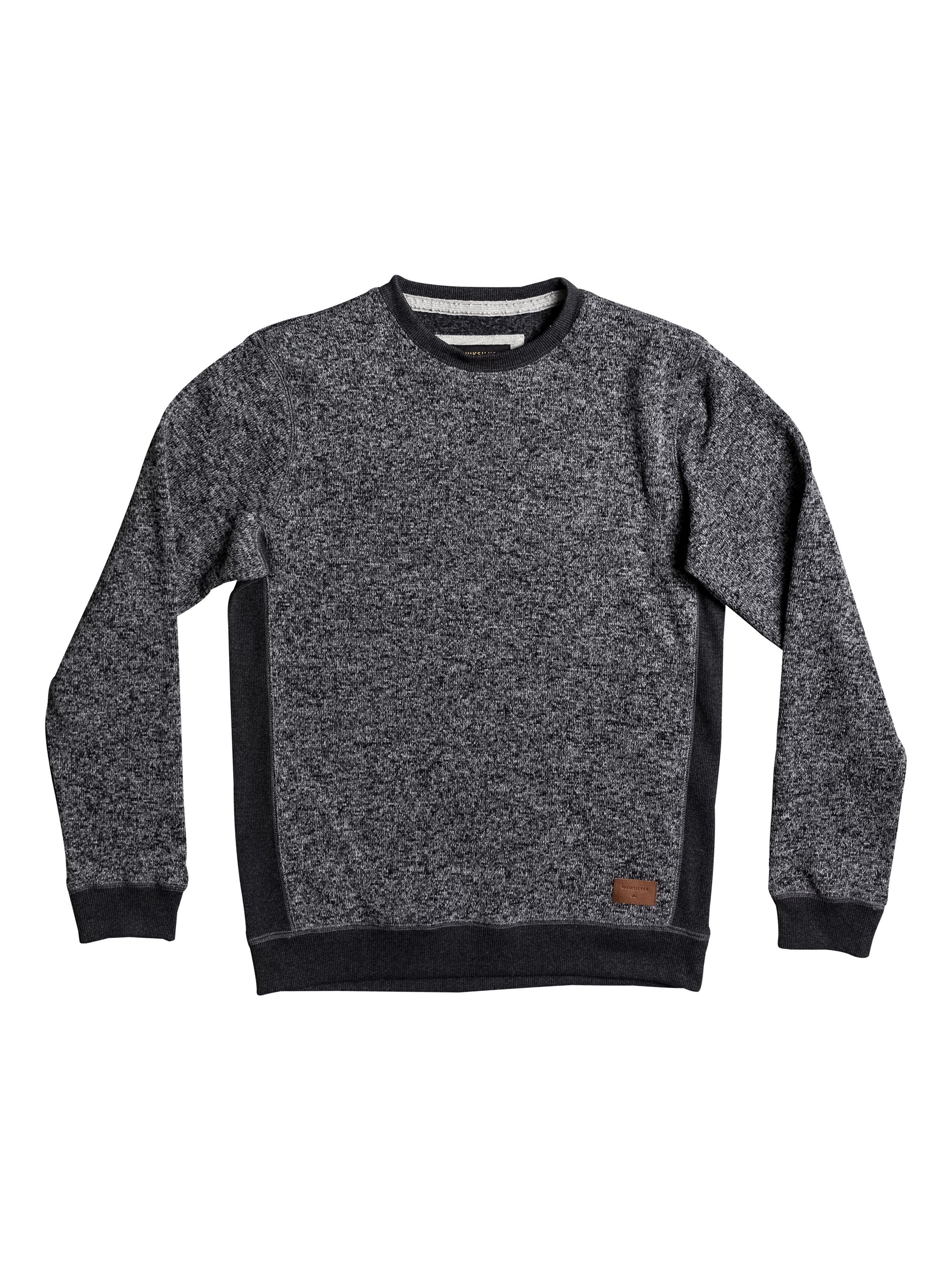 Men's Quiksilver Quiksilver Keller Fleece Sweatshirt, Charcoal