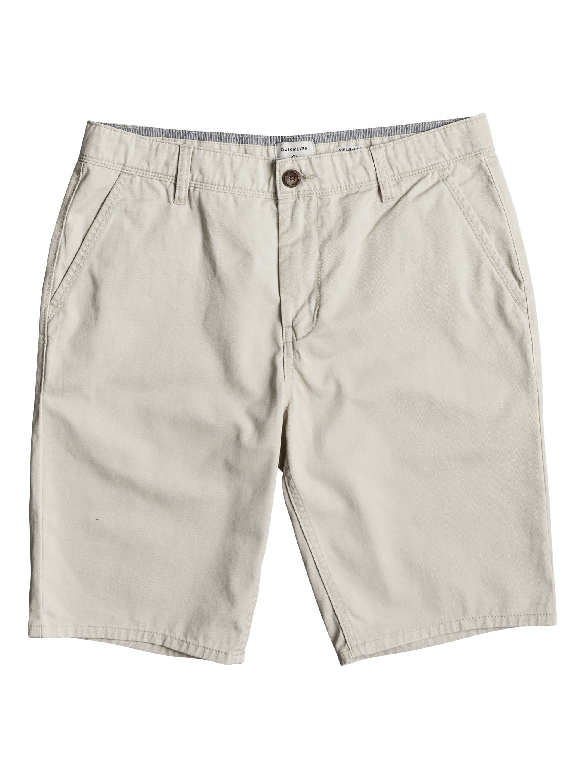 Click to view product details and reviews for Mens Quiksilver Everyday Light Chino Shorts White.