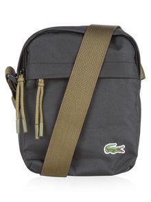 Lacoste Neocroc bag in canvas