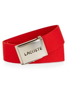 Lacoste Canvas Belt