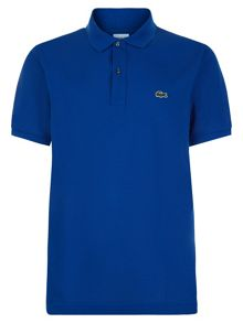 Lacoste Slim fit polo in petit piqué