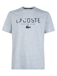 Lacoste Crew neck t-shirt with LSC print