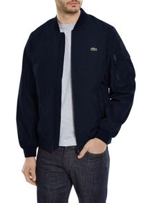 Lacoste Zip-Through Taffeta Jacket