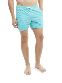 Lacoste Medium Fit Swim Shorts in Printed Nylon