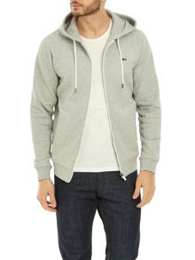 Lacoste Hooded Zip Sweatshirt
