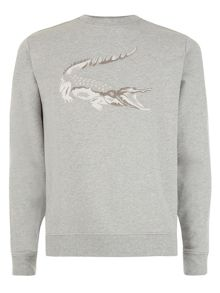Lacoste Sweatshirt with Robert George Crocodile