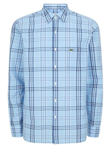 Lacoste Long Sleeved Check Shirt