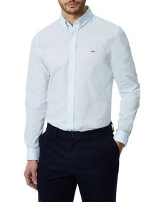Lacoste Mini-Check Long Sleeved Shirt